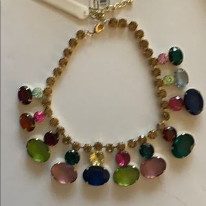 Baublebar colorful crystal necklace